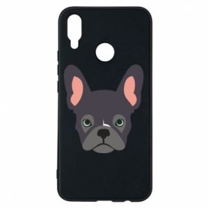 Etui na Huawei P Smart Plus Black french bulldog