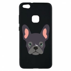 Etui na Huawei P10 Lite Black french bulldog