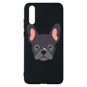 Etui na Huawei P20 Black french bulldog