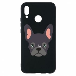 Etui na Huawei P20 Lite Black french bulldog