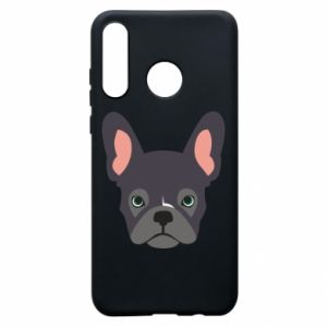 Etui na Huawei P30 Lite Black french bulldog