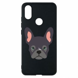 Etui na Xiaomi Mi A2 Black french bulldog