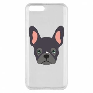 Etui na Xiaomi Mi6 Black french bulldog
