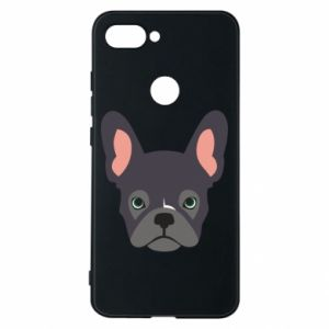 Etui na Xiaomi Mi8 Lite Black french bulldog