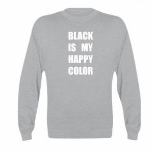 Bluza dziecięca Black is my happy color
