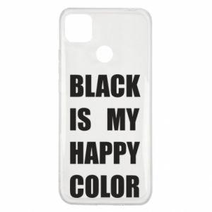 Etui na Xiaomi Redmi 9c Black is my happy color