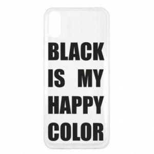 Etui na Xiaomi Redmi 9a Black is my happy color
