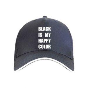 Czapka Black is my happy color