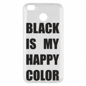 Etui na Xiaomi Redmi 4X Black is my happy color