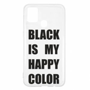 Etui na Samsung M31 Black is my happy color