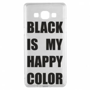Etui na Samsung A5 2015 Black is my happy color