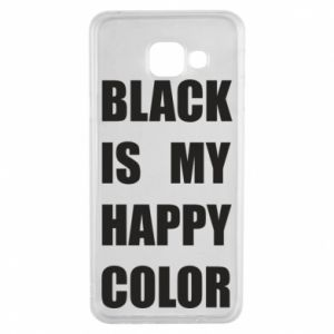 Etui na Samsung A3 2016 Black is my happy color