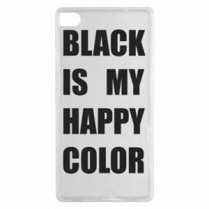 Etui na Huawei P8 Black is my happy color