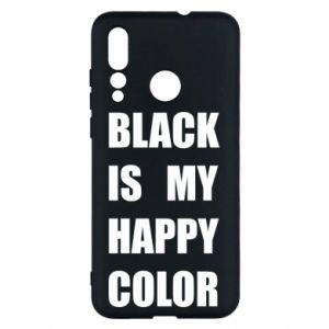 Etui na Huawei Nova 4 Black is my happy color