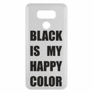 Etui na LG G6 Black is my happy color