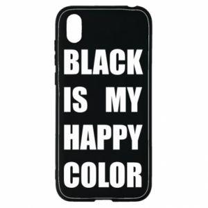 Etui na Huawei Y5 2019 Black is my happy color