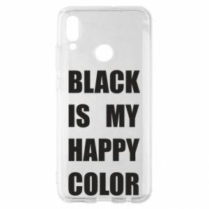 Etui na Huawei P Smart 2019 Black is my happy color