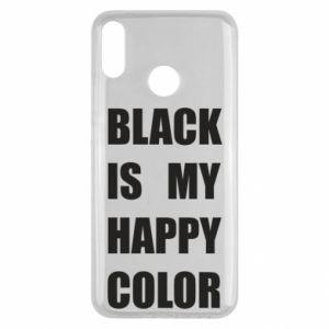 Etui na Huawei Y9 2019 Black is my happy color