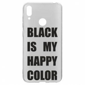 Etui na Huawei Y7 2019 Black is my happy color