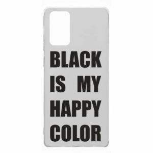Etui na Samsung Note 20 Black is my happy color