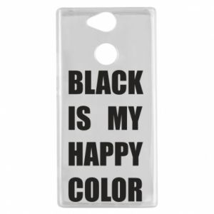 Etui na Sony Xperia XA2 Black is my happy color