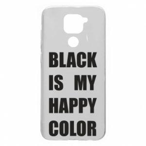 Etui na Xiaomi Redmi Note 9/Redmi 10X Black is my happy color