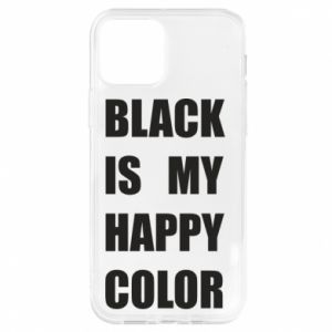 Etui na iPhone 12/12 Pro Black is my happy color