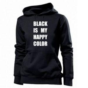 Damska bluza Black is my happy color