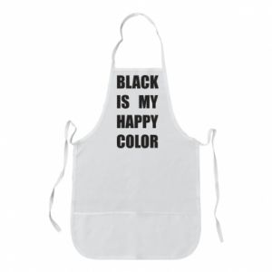 Fartuch Black is my happy color