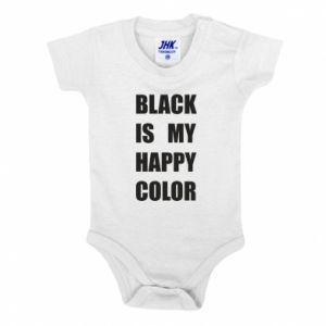 Body dla dzieci Black is my happy color