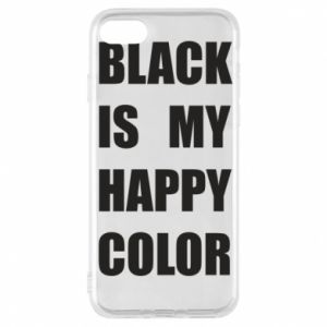 Etui na iPhone 7 Black is my happy color