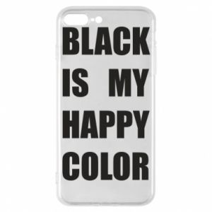 Phone case for iPhone 7 Plus Black is my happy color