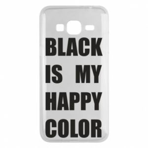 Phone case for Samsung J3 2016 Black is my happy color