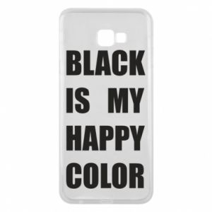 Phone case for Samsung J4 Plus 2018 Black is my happy color
