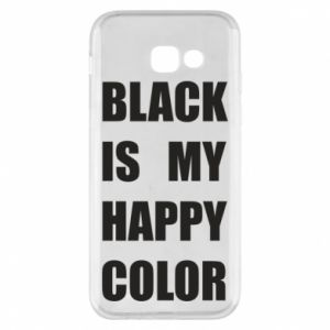 Phone case for Samsung A5 2017 Black is my happy color