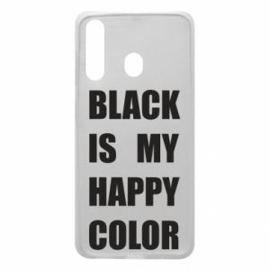 Phone case for Samsung A60 Black is my happy color