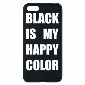Phone case for Huawei Y5 2018 Black is my happy color