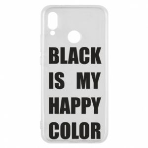 Etui na Huawei P20 Lite Black is my happy color