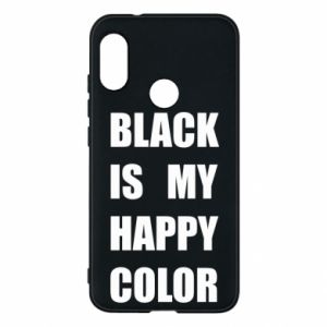Phone case for Mi A2 Lite Black is my happy color