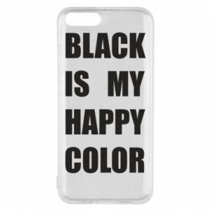 Etui na Xiaomi Mi6 Black is my happy color