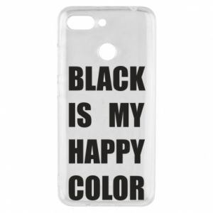 Phone case for Xiaomi Redmi 6 Black is my happy color