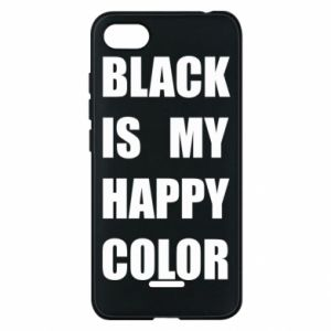 Phone case for Xiaomi Redmi 6A Black is my happy color