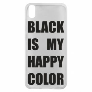 Phone case for Xiaomi Redmi 7A Black is my happy color
