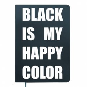 Notepad Black is my happy color