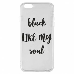 Etui na iPhone 6 Plus/6S Plus Black like my soul