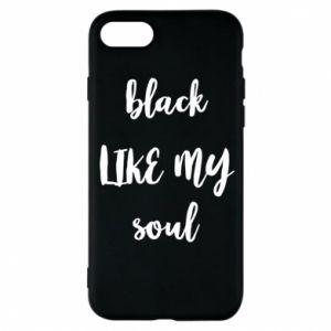 Etui na iPhone 8 Black like my soul