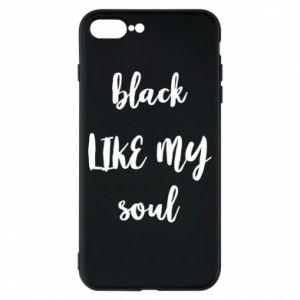 Etui na iPhone 8 Plus Black like my soul