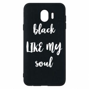 Etui na Samsung J4 Black like my soul