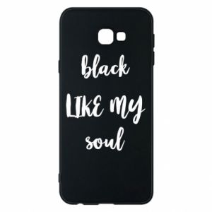 Etui na Samsung J4 Plus 2018 Black like my soul