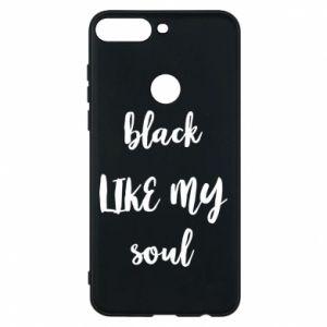 Etui na Huawei Y7 Prime 2018 Black like my soul